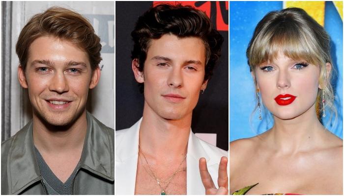 Shawn Mendes says Taylor Swifts man Joe Alwyn looks like a villain