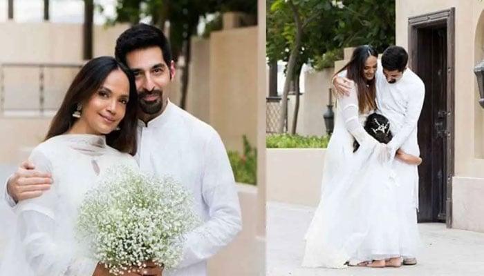 Aamina Sheikh, husband Omar Farooqui welcome first child together