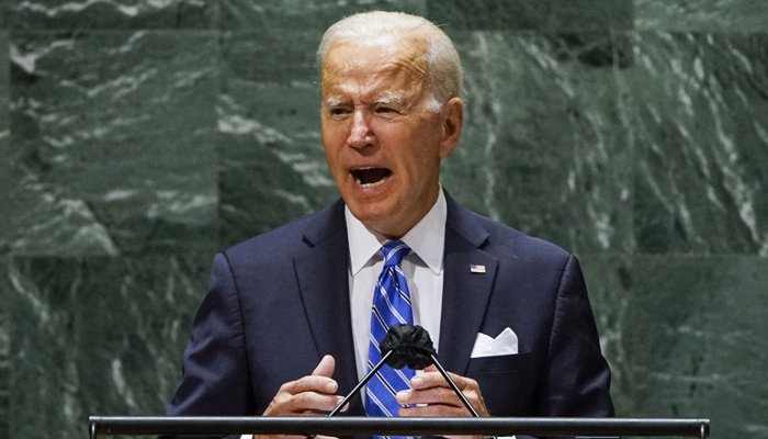 Joe Biden says US not seeking Cold War as he vows to lead