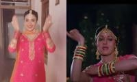 Ayeza Khan Recreates Sridevi's Dance On 'Mere Haathon Mein'