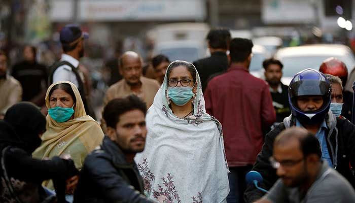 Pakistans COVID-19 ratio stands at 4.56%. Photo: file