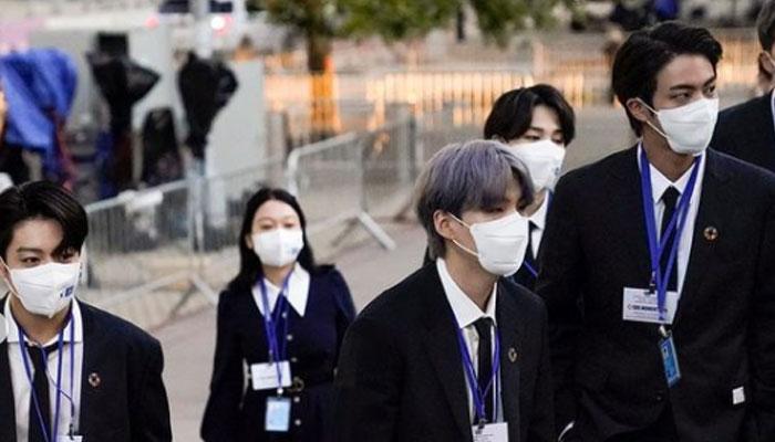 BTS perform, deliver speech at UN general debate