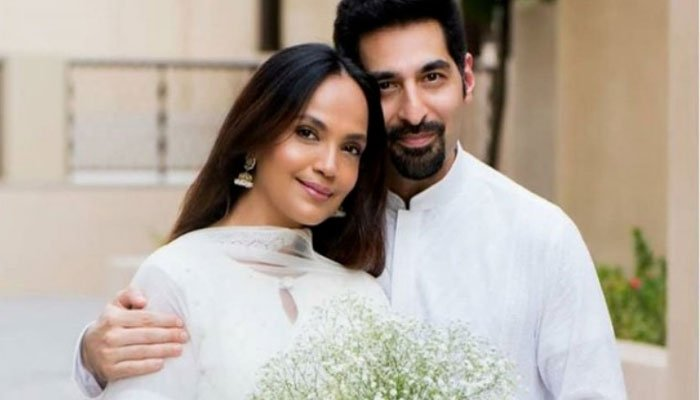 Aamina Sheikh introduces Baby boy Issa: 'Alhamdulillah'