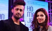 Atif Aslam unveils release date of music video 'Ajnabi' with Mahira Khan