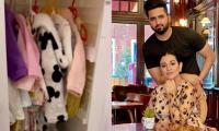 Sarah Khan, Falak Shabir beautifully decorate their baby's room: Watch