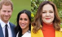 Melissa McCarthy shares Meghan's priceless reaction when Harry joined her interview