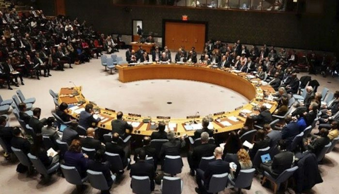 The UN Security Council room where delegates from various countries hold meetings. Photo: file/AFP