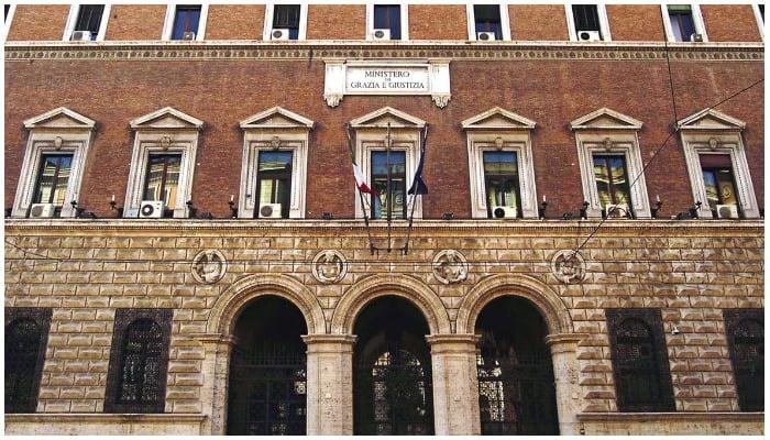 The headquarters of Italys Ministry of Justice in Rome. Photo — Facebook/Ministero della Giustizia
