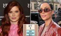 Debra Messing says Kim Kardashian's SNL hosting gig left her confused