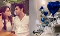 Minal Khan Surprises Ahsan Mohsin Ikram With 'balloon-filled' Room