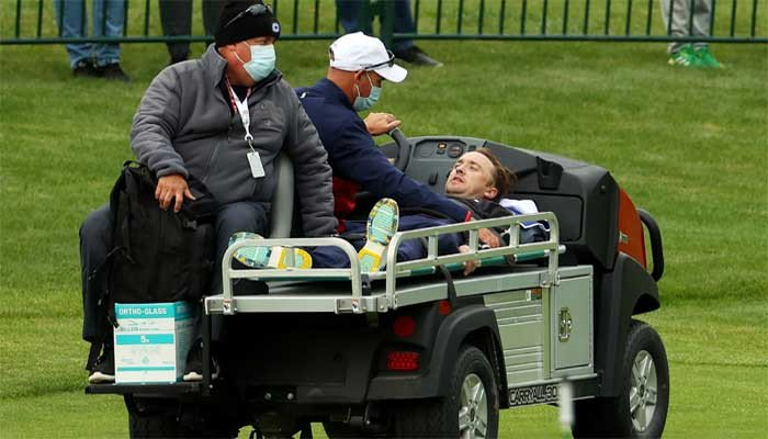 'Harry Potter' actor Tom Felton carted off the course as he collapses during celebrity matches - The News International