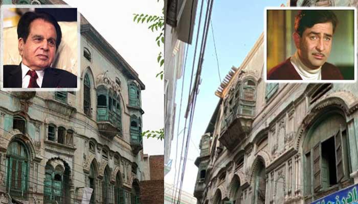 Dilip Kumar, Raj Kapoor's Peshawar homes' restoration begins