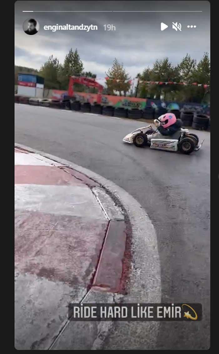 Engin Altan Duzyatan's son Emir turns a Formula car rider: Watch