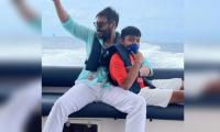 Ajay Devgn Shares 'defining Moment' With His Son Yug From Their Maldives Trip