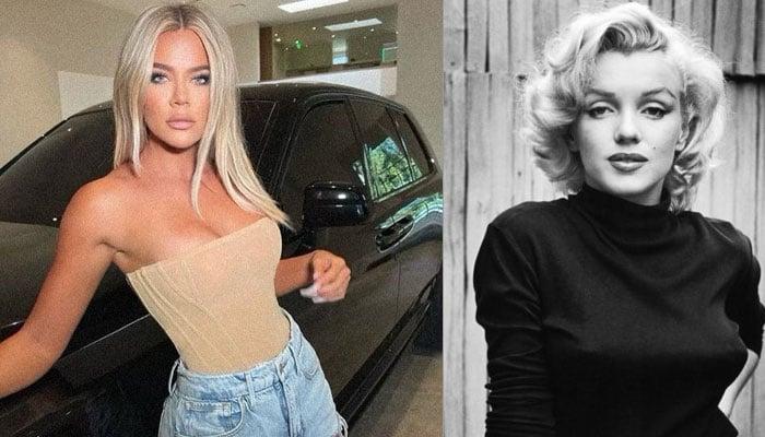 Khloe Kardashian channels Marilyn Monroe in her latest new look