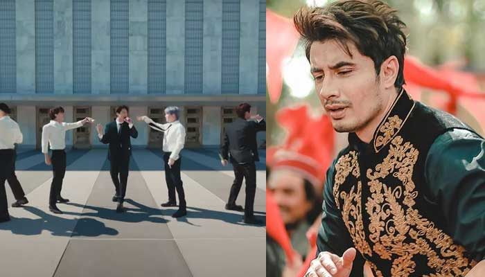Ali Zafar shares a hilarious video featuring BTS and dubbed with his Pashto song
