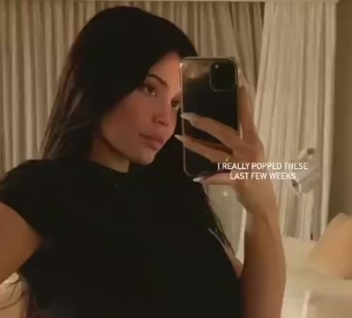 Kylie Jenner expresses surprise over her blooming baby bump