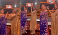 Madhuri Dixit Recreates Dance On 'Maye Ni Maye', Video Goes Viral