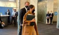 Prince Harry And Meghan Markle Visit UN