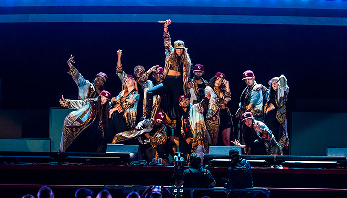 Jennifer Lopez performs unreleased song at Global Citizen Live Festival