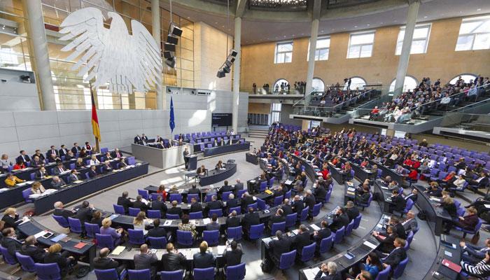 Germany's Bundestag. Photo: file