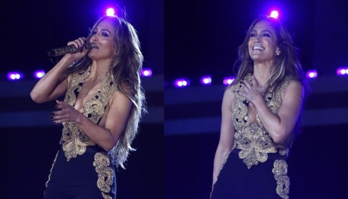 Jennifer Lopez sizzles in glamorous outfit while performing at Global Citizen Live 2021