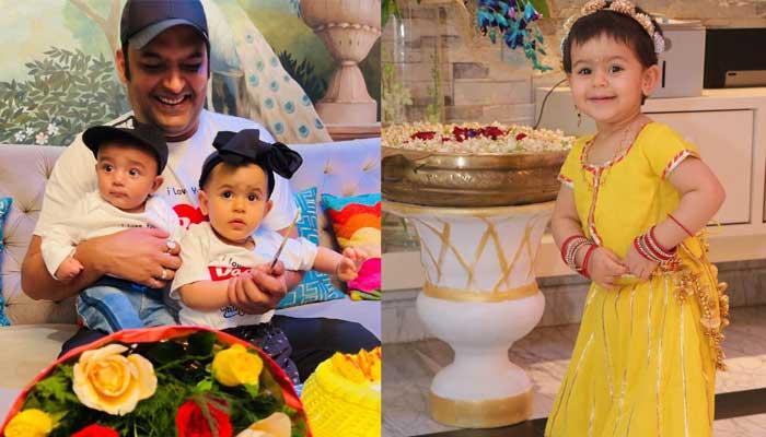 Kapil Sharma shares sweet photos of Anayra on Daughters' Day