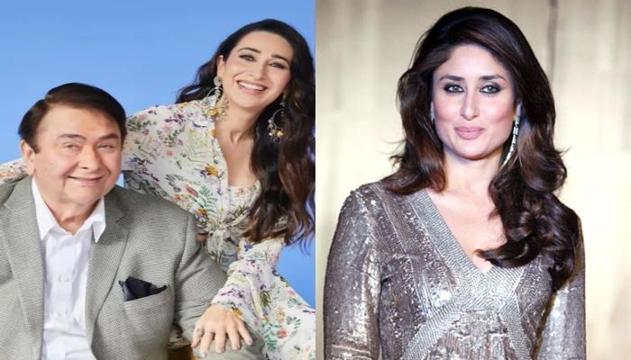 Kareena Kapoor showers love as Karisma Kapoor poses with Randhir Kapoor in new snaps