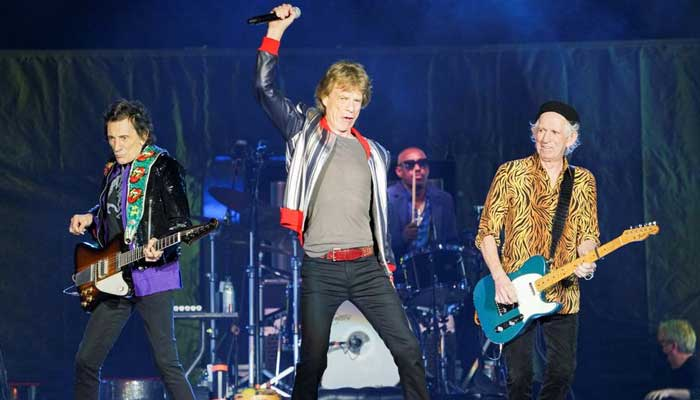Rolling Stones: Steve Jordan takes place of Charlie Watts on drums