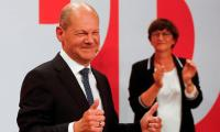 Germany's Social Democratic Party Narrowly Wins Election, Preliminary Official Results Show