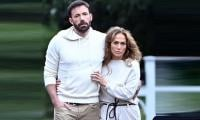 Ben Affleck flew out to see Jennifer Lopez's NYC performance