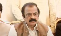 Rana Sanaullah responds to Mohammad Zubair controversy
