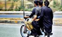 Pillion Riding Banned In Karachi, Other Districts Due To Security Reasons