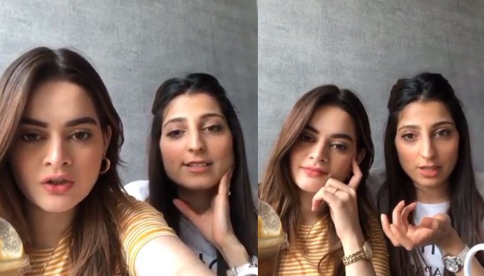 Minal Khan dishes out her special skincare secret with fans: Watch Here