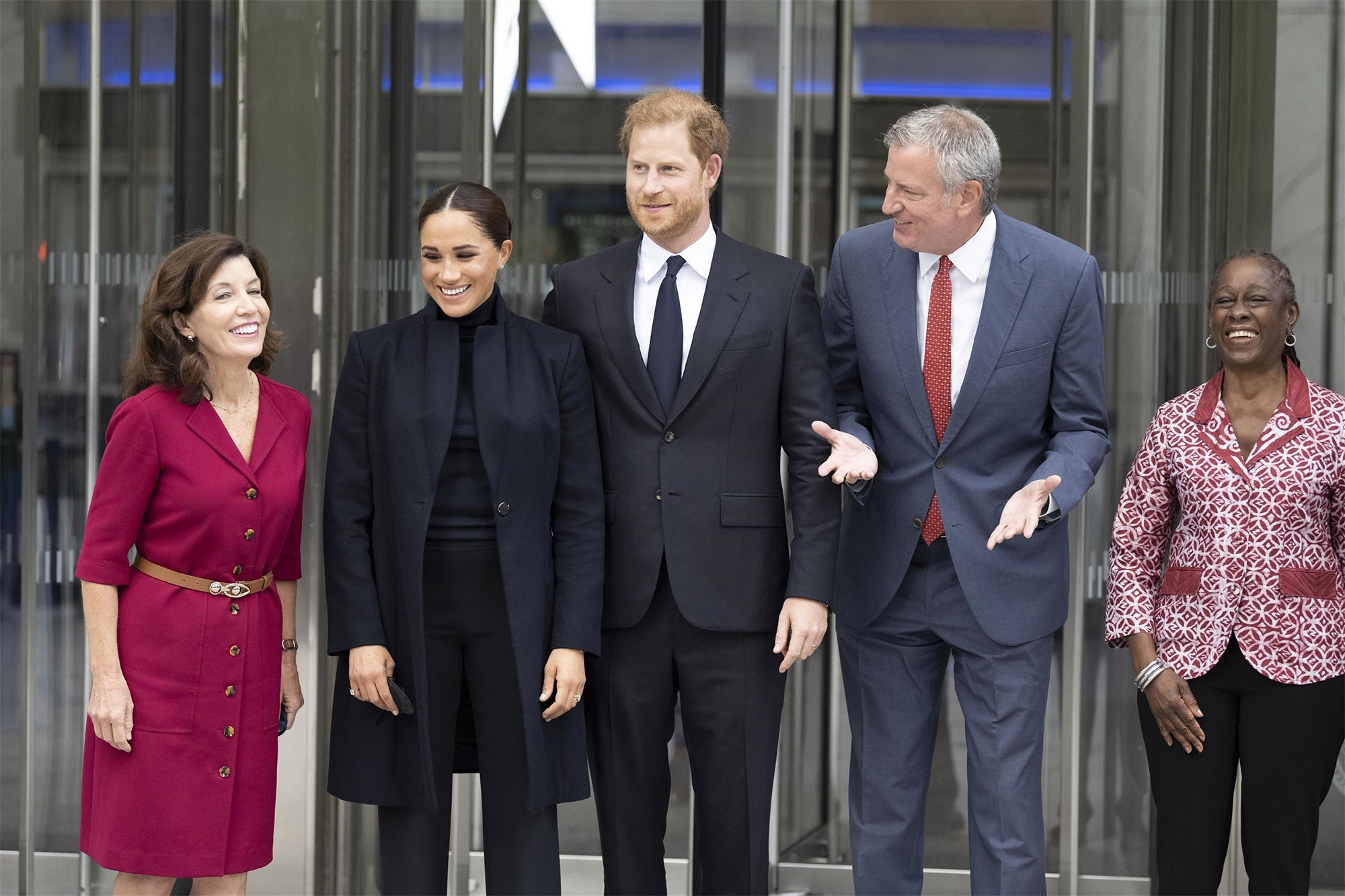 Meghan and Harry welcomed their daughter, named after Queen Elizabeth and Princess Diana, in June
