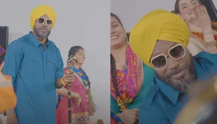 Chris Gayle releases music video of his song 'Punjabi Daddy'