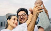 Iqra Aziz Shares 'moments Of Happiness' With Yasir Hussain, Son Kabir