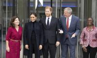 Meghan and Harry give update on 'beautiful' daughter Lilibet on NYC trip