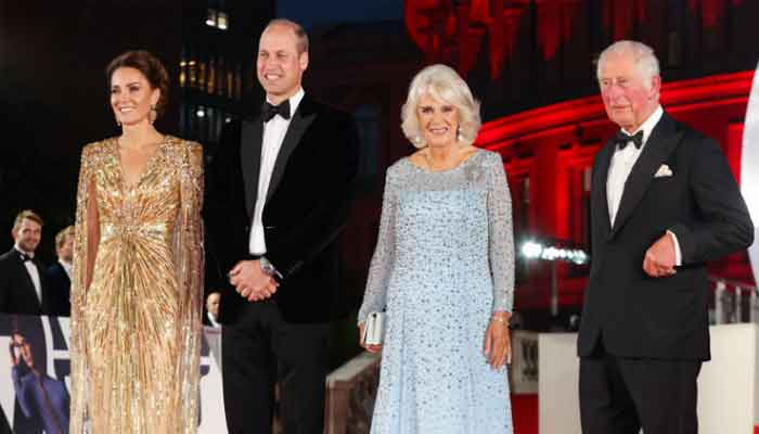 Prince William, Kate Middleton attend No Time To Die premier