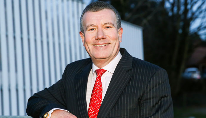 England and Wales Cricket Board (ECB) Chairman Ian Watmore. Photo: file