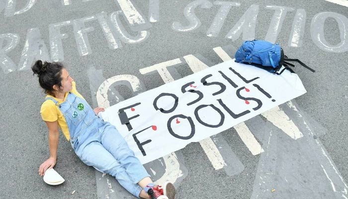 Climate change activists have mounted a series of high-profile protests in recent months. — AFP/File