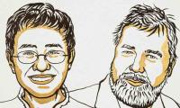 Journalists Maria Ressa and Dmitry Muratov win Nobel Peace Prize