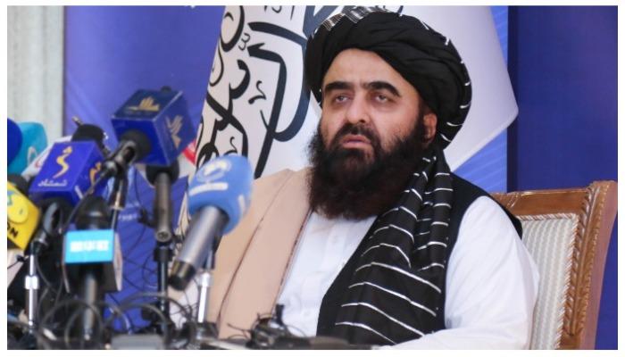 Taliban foreign minister Amir Khan Muttaqi. Photo —Twitter/@Ahmadmuttaqi01