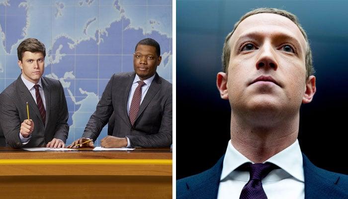 'SNL' fires shots at Mark Zuckerberg after Facebook whistleblower debacle