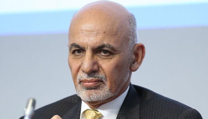 Afghanistan's former president Ashraf Ghani. Photo: file