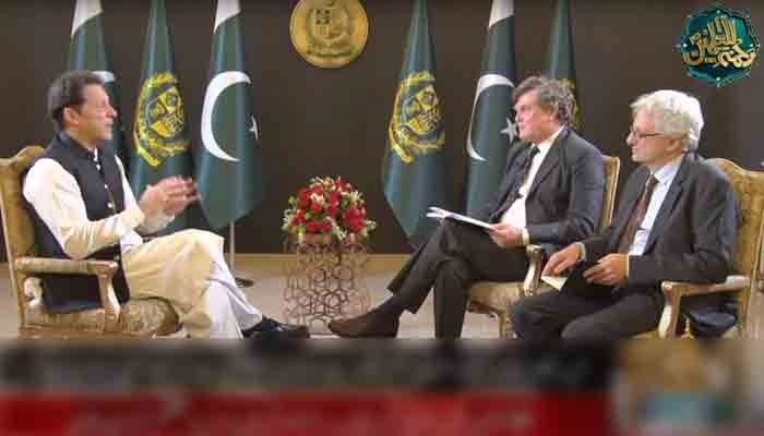 PM Imran Khan speaks to David Hearst and Peter Oborne of Middle East Eye.