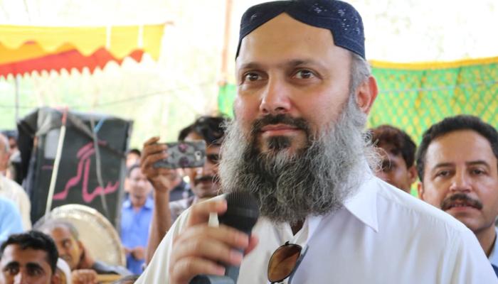 Balochistan Awami Party (BAP) leader Jam Kamal Alyani. — Twitter/File