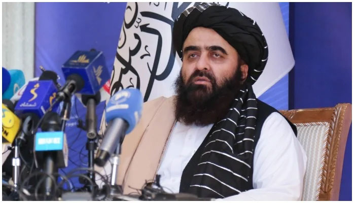 Afghanistans acting foreign minister Amir Khan Muttaqi. File photo
