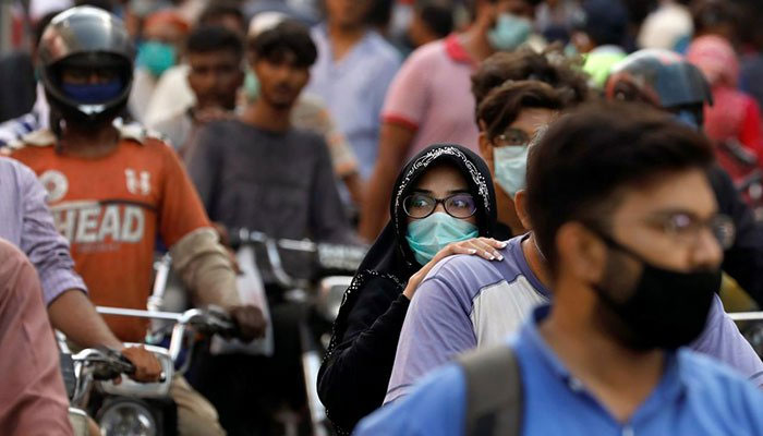 Pakistans coronavirus positivity rate stands at 1.62%. Photo: file