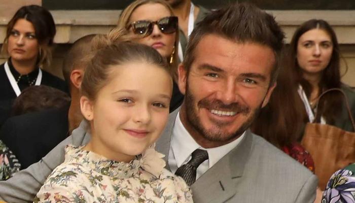 David Beckham pens loving note for daughter Harper on Int. day of girl child